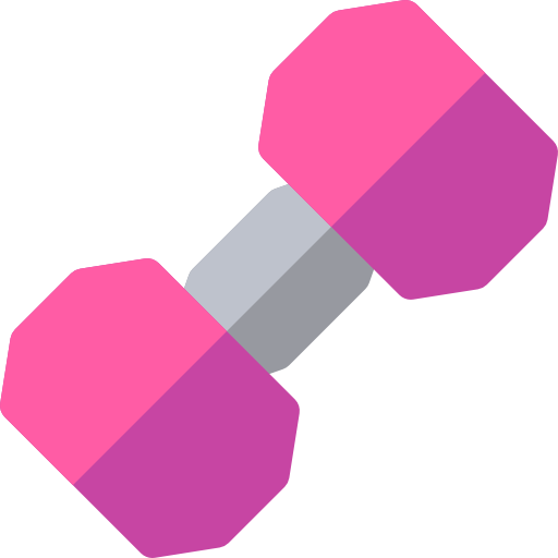 Weights Pink Transparent Png Clipart Free Download