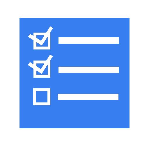 Transparent Tasks Icon