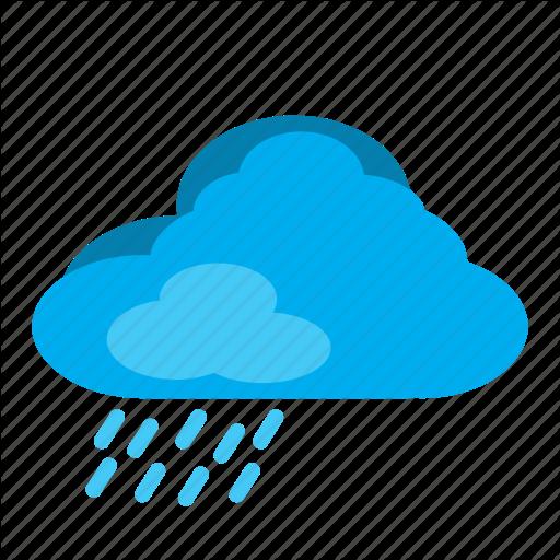Cloud, Elements, Rain, Rain Cloud, Weather Icon