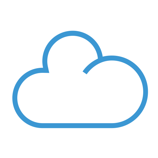 Cloud, Share, Upload, Weather Icon
