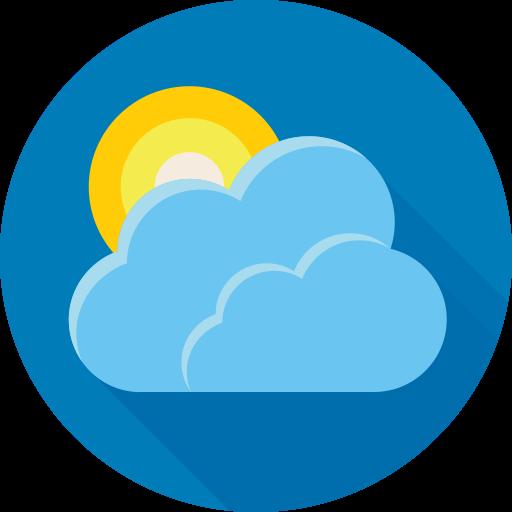 Forecast, Cloud, Sun, Weather Icon