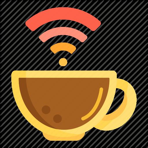 Cafe, Free Wifi, Internet, Wifi, Wifi Cafe, Wifi Zone Icon