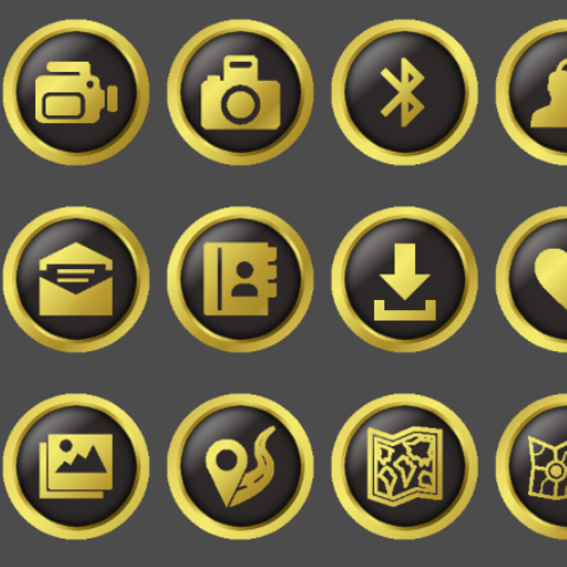 Apexnovaholoadw Gold Icon Pack Appstore For Android