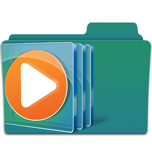Folder, Media, Player, Windows Icon