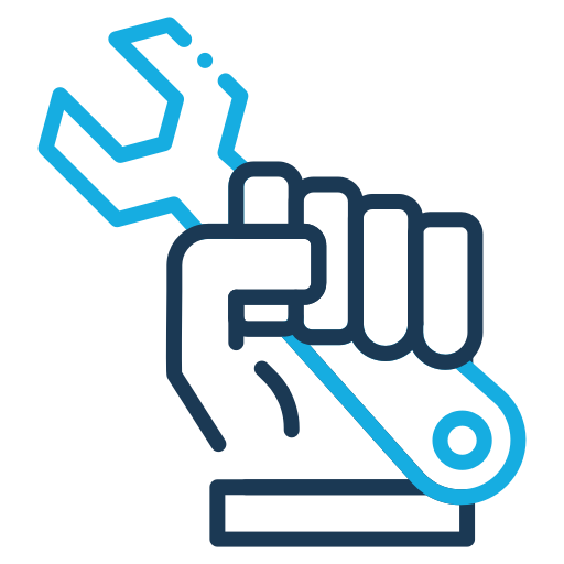Building, Construction, Industry, Wrench Icon