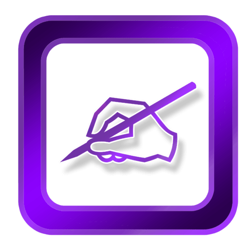 Cropped Icon Purple