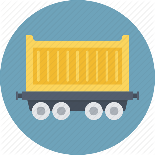 Cargo, Freight Train, Shipping, Train, Transport Icon