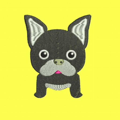 French Bulldog Machine Embroidery Designs