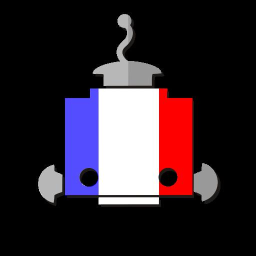 Fr, Flag, Bot, French, France, Robot, Telegram Icon