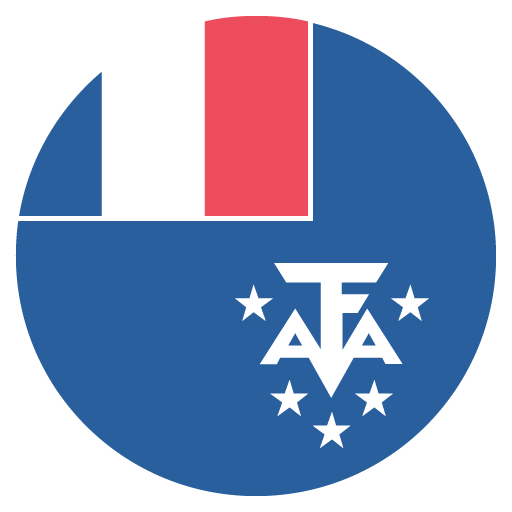 French Southern Territories Flag Vector Emoji Icon Free Download