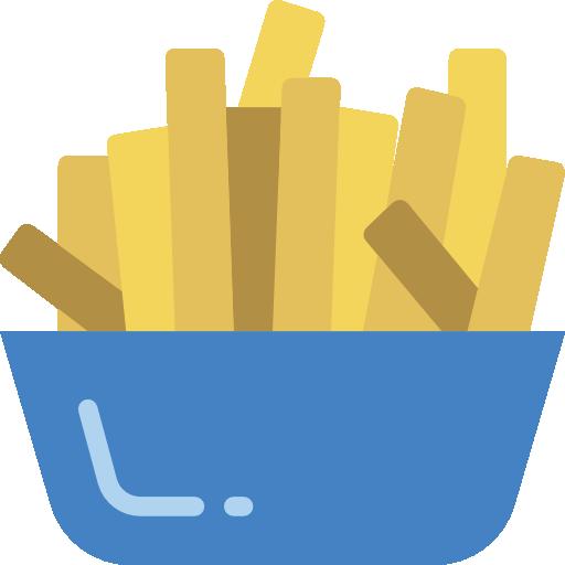 French Fries Icon Gastronomy Smashicons