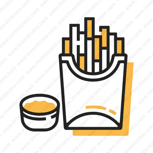 Download French Fries,chips,fries,food Icon Inventicons