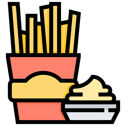 Fast, Food, French, Fries, Snacks Icon Free Of Street Food