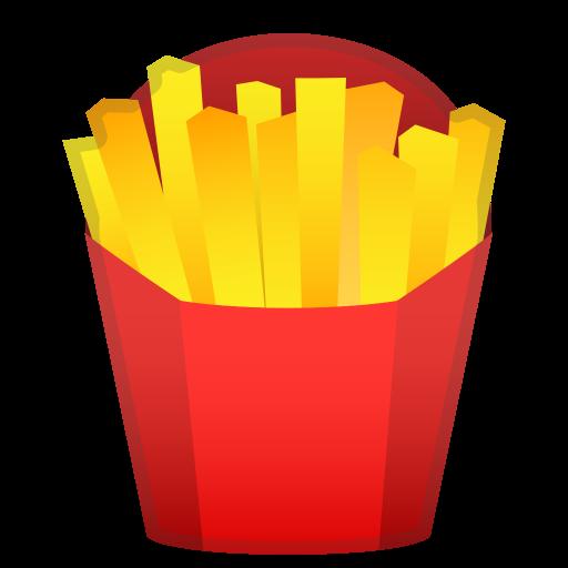 French Fries Icon Noto Emoji Food Drink Iconset Google