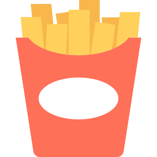 Fried Potatoes French Fries Png Icon