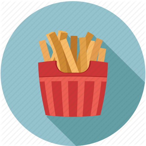 Fast Food, French Fries, French Fry, Fries Icon