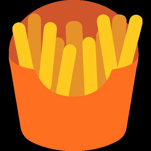 French Fries Emoji For Facebook, Email Sms Id Emoji