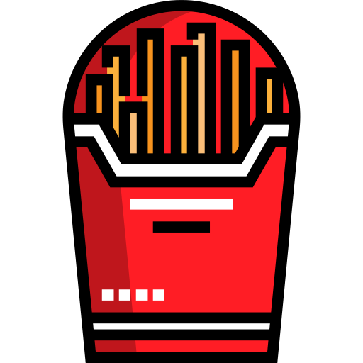 French Fries Fast Food Png Icon