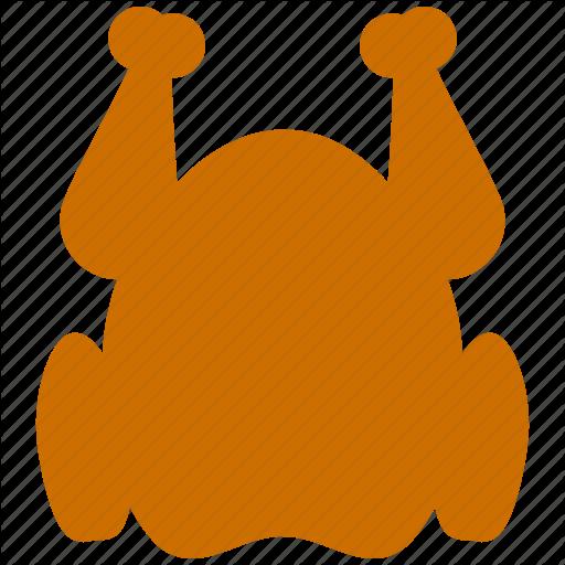 Chicken, Fried Chicken, Meat, Turkey Icon
