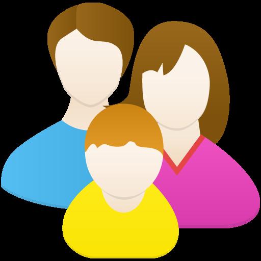 Family Icon Flatastic Iconset Custom Icon Design
