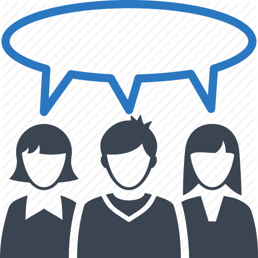 Discussion, Friends, Talk, Users Icon