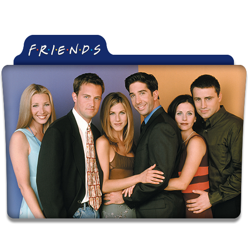 Friends Tv Series Folder Icon