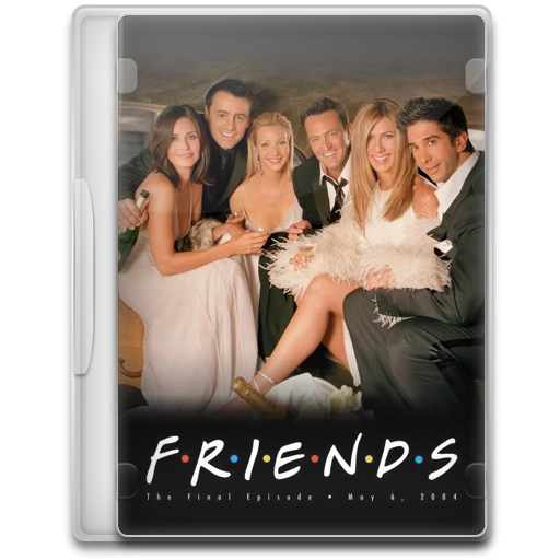 Friends Icon Tv Show Mega Pack Iconset