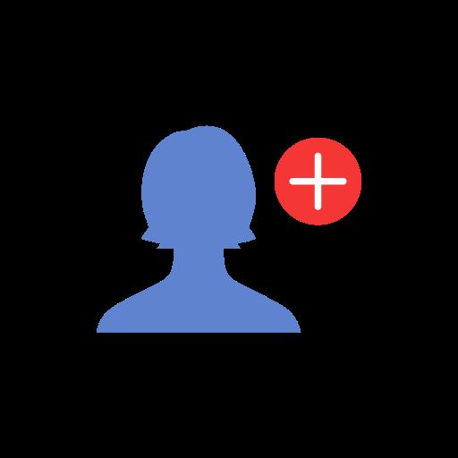 Friend Request, Facebook, Fb, Add Friend Icon