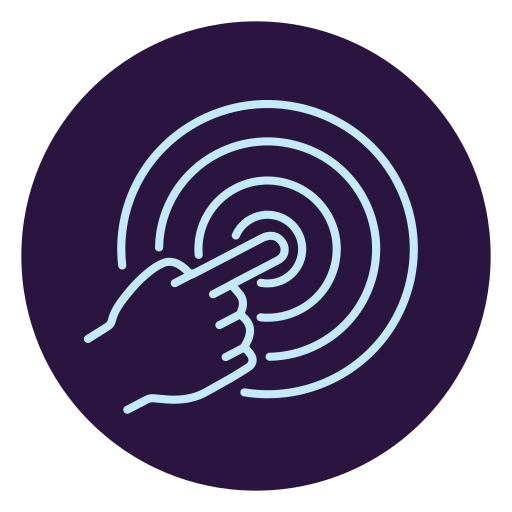 Virtual Reality, Push, Hand, Finger, Press Icon Free Of Virtual