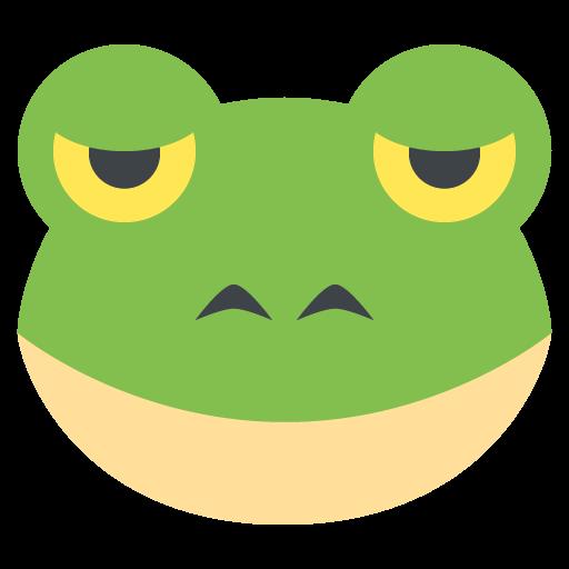 Frog Face Emoji Vector Icon Free Download Vector Logos Art