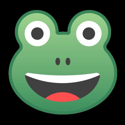 Frog Face Icon Noto Emoji Animals Nature Iconset Google