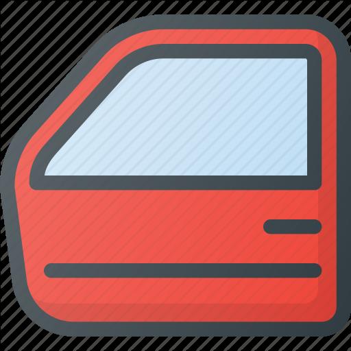 Car, Component, Door, Front Icon