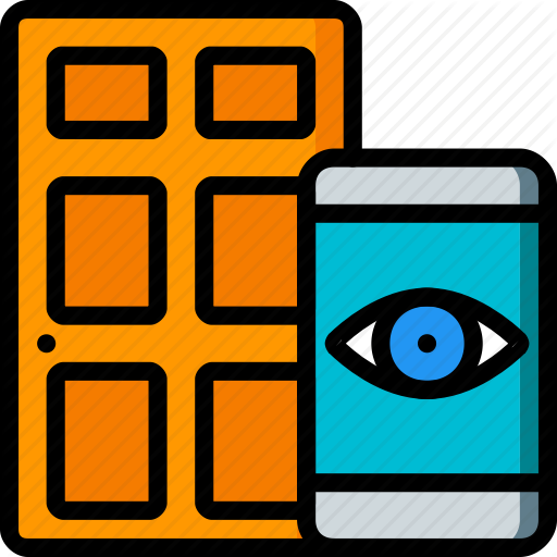 Door, Front, Home, Remote, Smart, View Icon