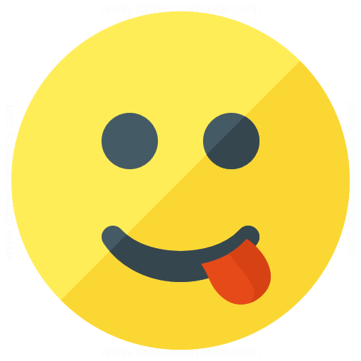 Iconexperience G Collection Emoticon Tongue Icon