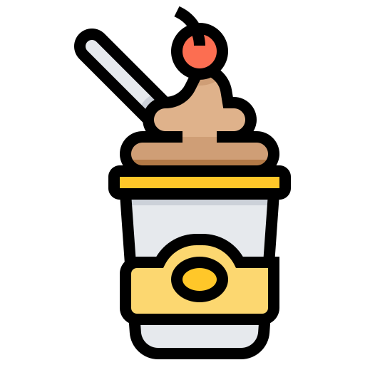 Cream, Cup, Frozen, Ice, Sweets Icon Free Of Street Food And Food