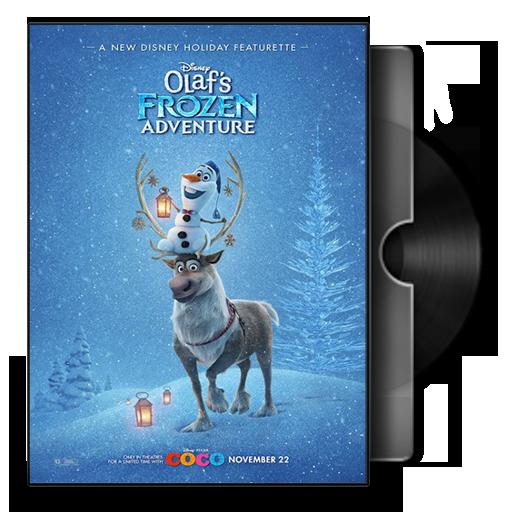 Olaf's Frozen Adventure Dvd Cover Icon