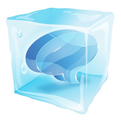 Were Frozen Icon Vector Free Vector