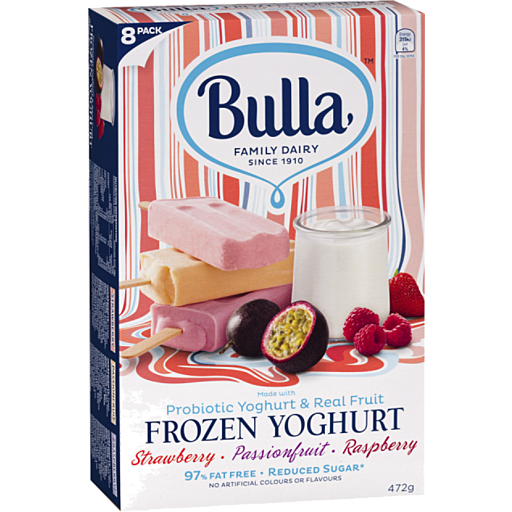 Bulla Bulla Frozen Yogurt Selection Pack