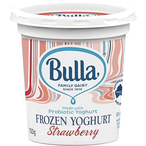 Bulla Bulla Frozen Yogurt Strawberry