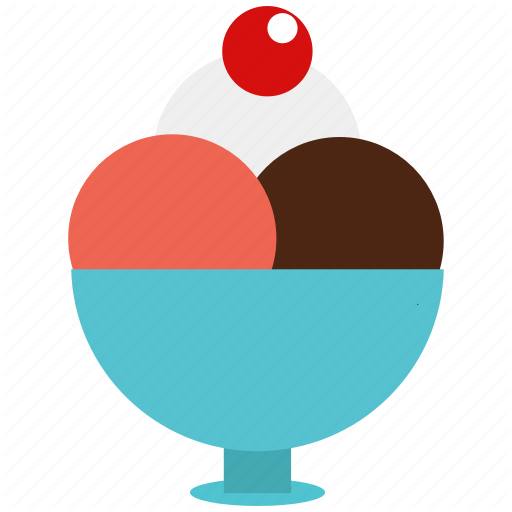 Dessert, Food, Frozen Dessert, Frozen Yogurt, Icecr Icon