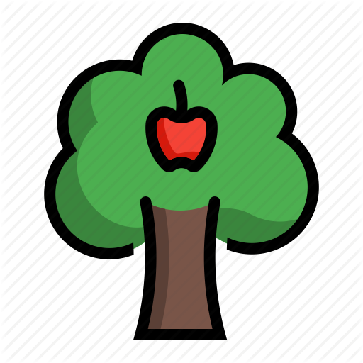 Apple, Fruit, Malus, Plant, Tree Icon