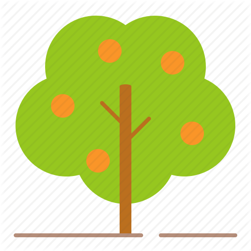 Farm, Farming, Fruit, Orange Tree, Tree Icon