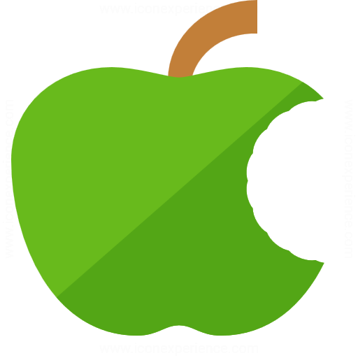 Iconexperience G Collection Apple Bite Icon