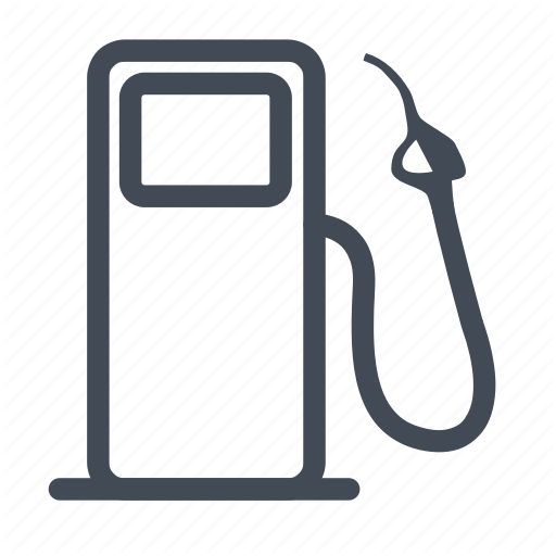 Fuel, Low, Low Fuel Icon