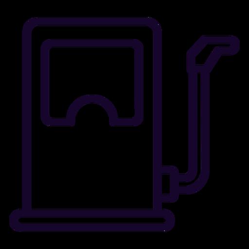 Fuel Dispenser Stroke Icon