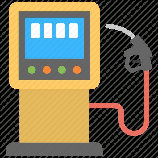 Filling Station, Fuel Pump, Gas Station, Petrol Pump Icon