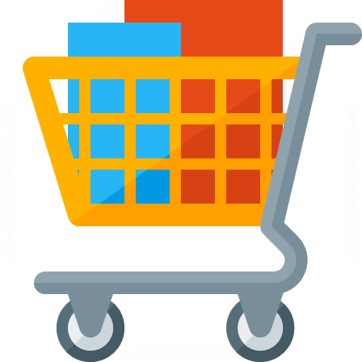 Iconexperience G Collection Shopping Cart Full Icon