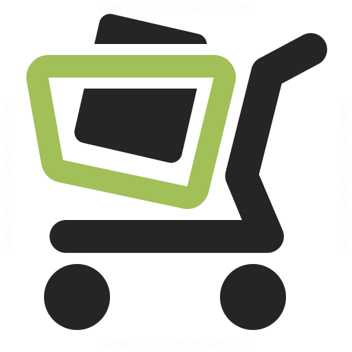 Shopping Cart Full Icon Iconexperience