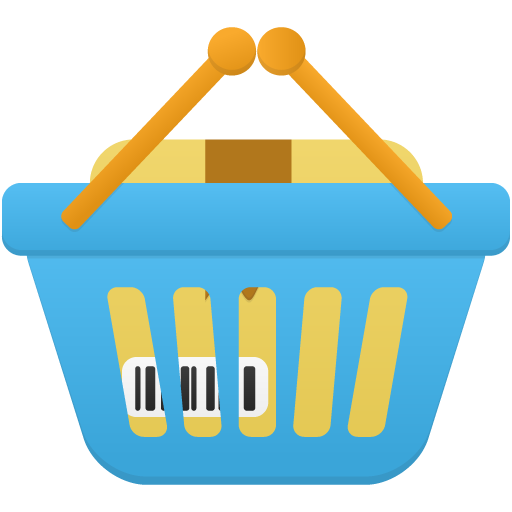 Shopping Basket Full Icon Flatastic Custom Icon Design