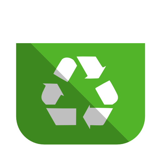 System Recycling Bin Full Icon Squareplex Iconset